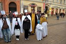 Slavnostní zahájení Tříkrálové sbírky v Karlových Varech