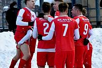 V osudí osmifinále MOL Cupu nebude chybět ani třetiligová karlovarská Slavia, která senzačně vyřadila výběr ligové Opavy.