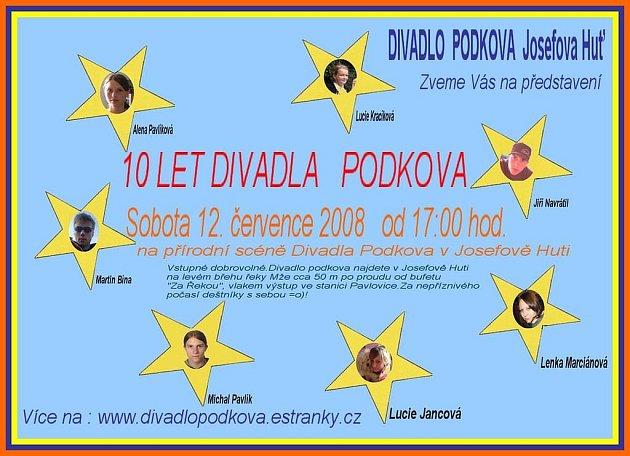 Deset let Divadla Podkova.