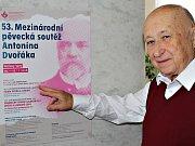 Ředitelem mezinárodní pěvecké soutěže A. Dvořáka, která se koná od 9. do 16. listopadu je i letos Alois Ježek.