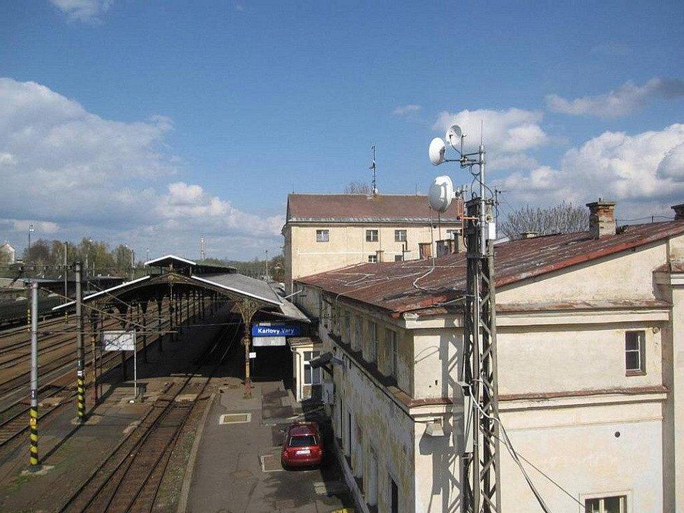 Horní nádraží Karlovy Vary - aktuální stav