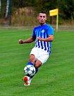 Cennou výhru 1:0 ukořistil před svými fanoušky ostrovský FK, který udolal v poměru 1:0 Mostecký FK (v šedém).