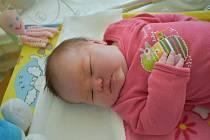 Julie Trnčákováz Karlových Varů se narodila 2. srpna 2020 v sokolovské porodnici.