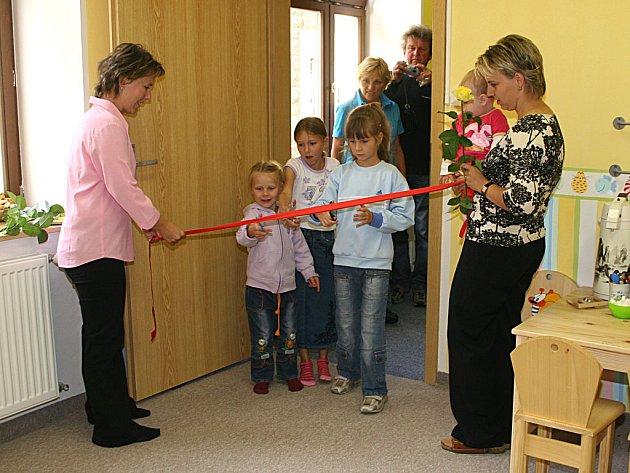 Rodinné centrum Zvoneček v novém. Od 5. září funguje v nových prostorech ve Dvořákově ulici.