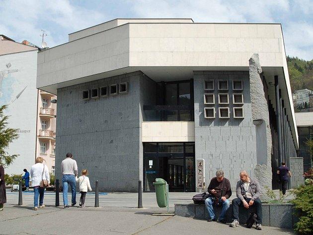 Vřídelní kolonáda v Karlových Varech.