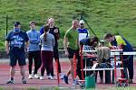 Vrhačské víceboje. Celkem prověřilo své síly na tuhnickém stadionu dvaapadesát závodníků.