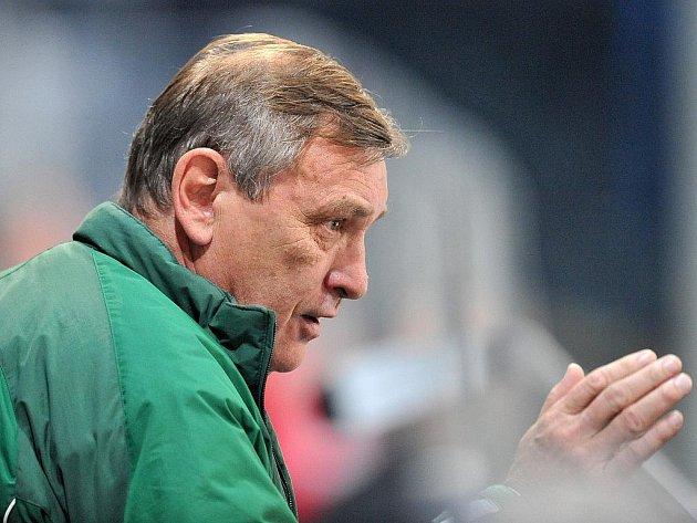 Nyní už bývalý trenér Energie Josef Paleček