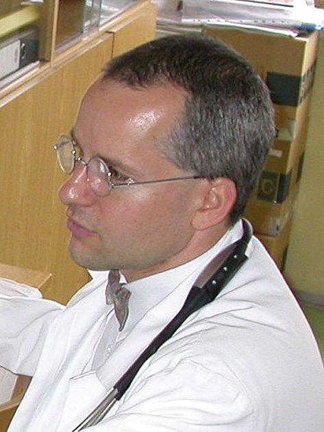 Jaroslav Žák, primář interního oddělení nemocnice Karlovy Vary