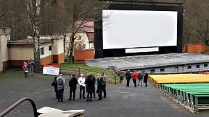 Letní kino.