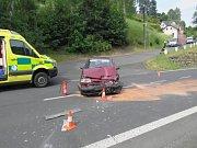 Místa tří dopravních nehod, které se staly na Bečovsku.