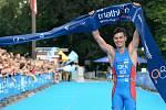 Světová triatlonová špička  i letos zamíří do Karlových Varů, kde se představí od 11. do 13. září, a fanoušci se opět mohou těšit na špičkovou triatlonovou podívanou. Ilustrační foto.