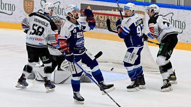 Kometa Brno porazila na svém ledě Energii Karlovy Vary