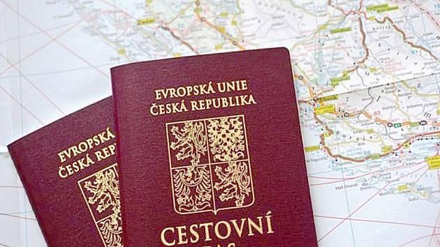 Zkontrolovat si cestovní pas včas se vyplatí.