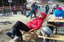 Loučení se zimou na Klínovci