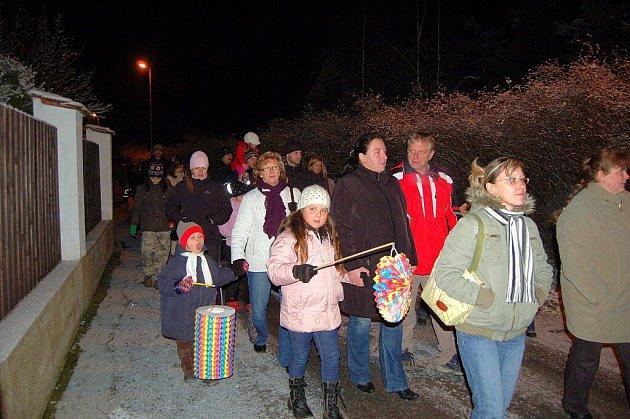 Rozsvícení vánočního stromu ve Velichově