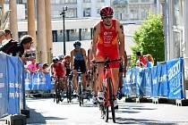 Karlovy Vary zažily o víkendu přehlídku největších triatlonových hvězd.