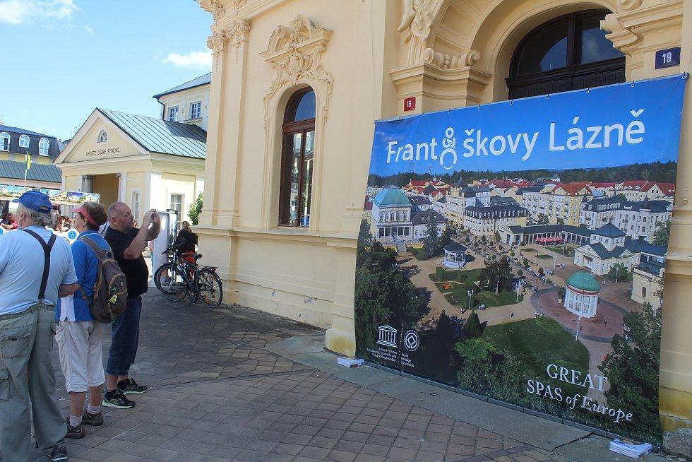 Františkovy Lázně slavily zápis na seznam světového dědictví