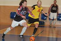 Trest. bez diváků odehrají třinácté dvoukolo divizní futsalové soutěže karlovarští Draci, kteří se utkají s Herdem Cheb a FT Františkovy Lázně.