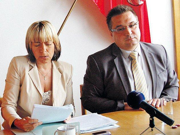 Náměstkyně Dagmar Laubová nastínila, že hospodaření KSO není v pořádku.