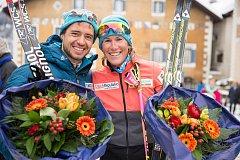 Poprvé v historii seriálu dálkových běhů se tak na stupně vítězů postavili dva zástupci z českého týmu, když Ilja Černousov bral stříbro a Kateřina Smutná bronz.
