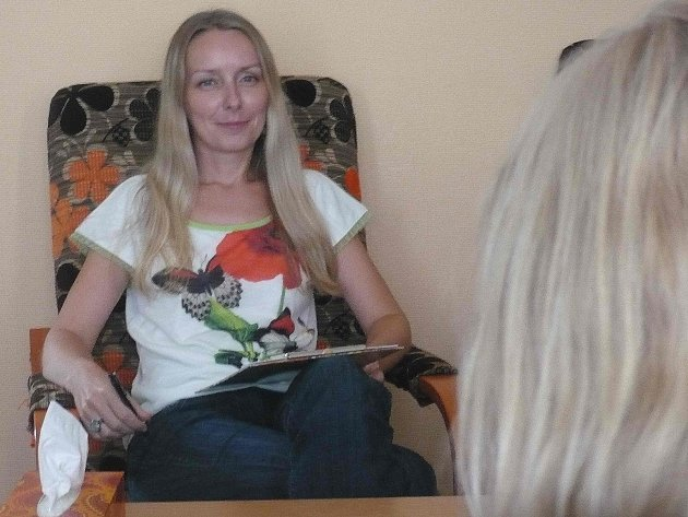 PSYCHOLOŽKA Andrea Havlíčková (na snímku) studovala u Jitky Vodňanské, jedné z nejpřednějších českých psychoterapeutek.