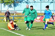 Březová rozhodla o výhře nad Dalovicemi v nastaveném čase, vyhrála 3:2.