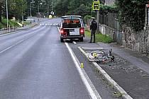 NEHODA. Po pádu z kola si šestačtyřicetiletý muž v Toužimi způsobil lehké zranění hlavy.