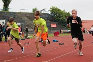Téměř dvě stovky školáků soutěžily o krajské kolo Odznaku Všestrannosti Olympijských Vítězů.