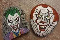 Malované kamínky.