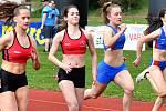 Atletický klub SC Start Karlovy Vary odstartoval ve středu 1. května novou sezonu Prvomájovými atletickými závody.