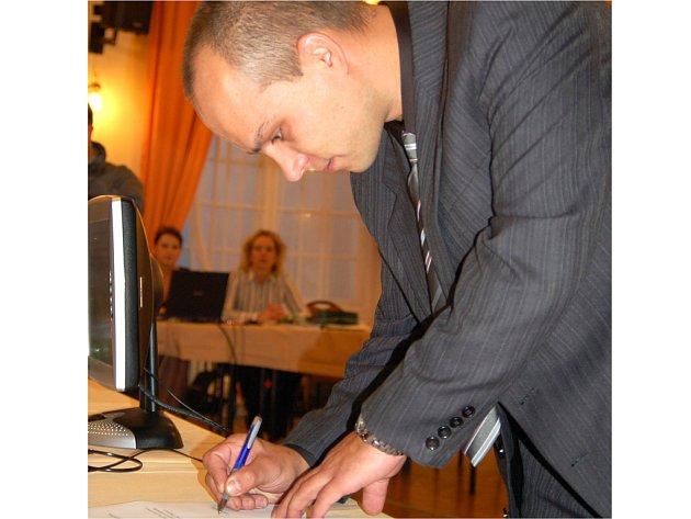 Radní Václav Tomášek vstoupil do politiky loni na podzim.