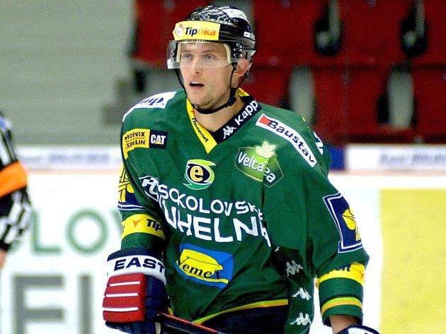 Petr Mocek loni nastupoval za Karlovy Vary.