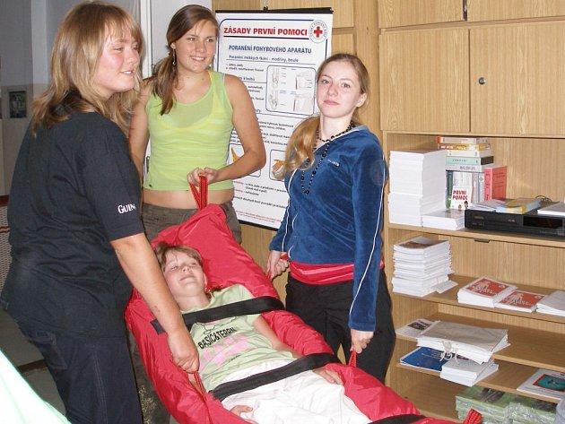 Karlovarský Český Červený kříž se v minulém roce hodně zabýval školením i první pomoci pro všechny věkové kategorie. (Ilustrační foto.)
