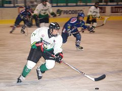 Dorost Energie hostil v prvním přípravném utkání na vlastním ledě tým Geus okna Kladno.