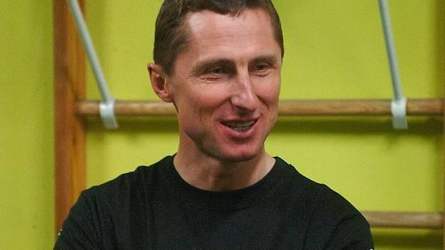 Antonín Stavjaňa, trenér HC Energie.
