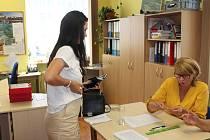 Zájem veřejnosti v místním referendu v Horách byl krátce po otevření volební místnosti velký.