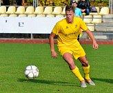 Třetí trefu v podzimní části si schoval pro pražskou Admiru záložník Viktorie Dominik Pěček (na snímku), který tak přispěl k senzační výhře nad lídrem tabulky v poměru 3:0.