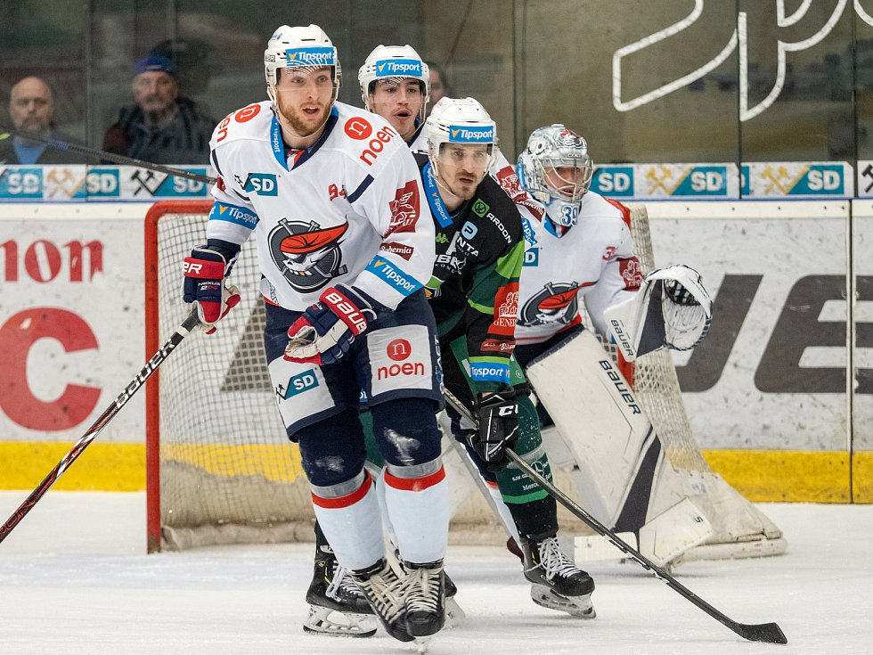Chomutovští piráti nastoupili na vlastním ledě proti HC Energie Karlovy Vary