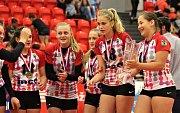 V Karlových Varech se hrálo republikové finále volejbalové Sportovní ligy základních škol