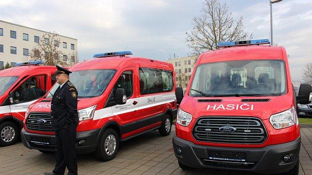 Auta pro dobrovolné hasiče