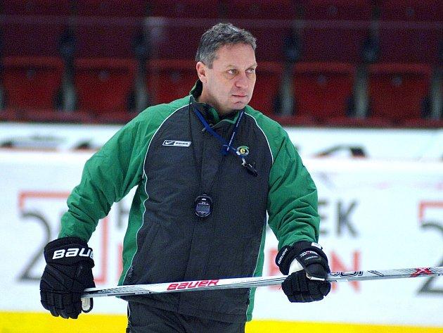 Trenér HC Energie Peter Oremus.