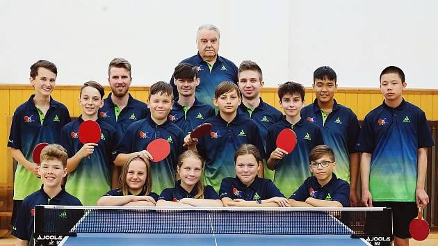 TTC KARLOVARSKO 2020 Cheb má velké ambice a disponuje skvělou mládeží.