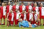 Veteráni Slavie  se představí o tomto víkendu v Olomouci na mistrovství České republiky.