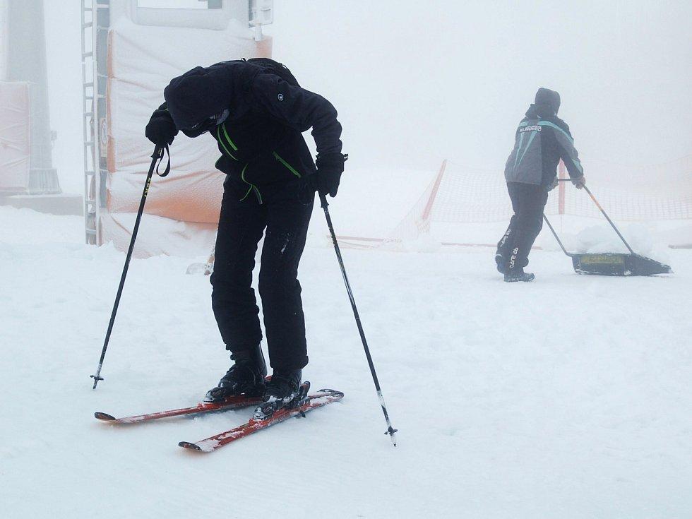 Ze Skiareálu Klínovec.