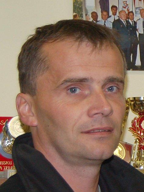 František Němec, velitel jednotky dobrovolných hasičů v Nejdku