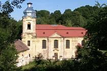 Kostel ve Skokách
