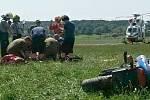 Nehoda motorkáře u Mariánských Lázní