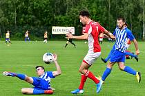 Třináct kousků nasázel bez milosti na rozloučenou s Turnajem KKFS ostrovský FK rezervě karlovarské Slavie.