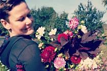 K práci květinářky se dostala úplnou náhodou a to, když kamarádka chtěla zavřít provozovnu kvůli nemoci.