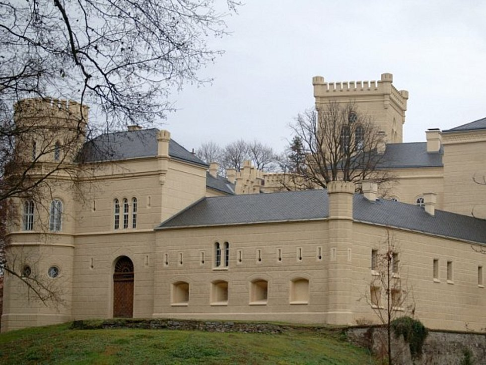 Nedaleko zámku Chyše je i pivovar, ve kterém se už jedenáct let vaří pivo.
